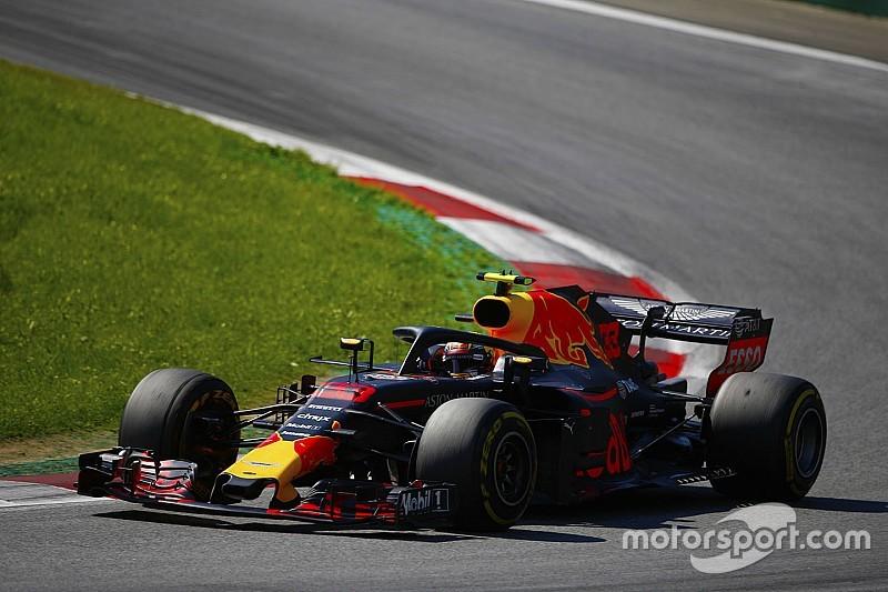 Verstappen engine turned down after Ricciardo failure