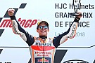 Le Mans MotoGP: Marquez wins, Dovizioso and Zarco crash