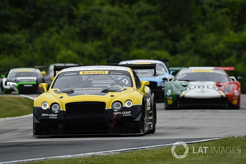Road America PWC: Parente's K-PAX Bentley storms to victory