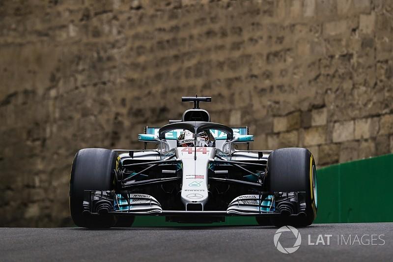 Hamilton vê Red Bull à frente da Mercedes