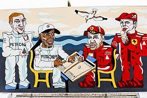 Fórmula 1 Galería GALERÍA: el arte urbano de la F1 en Bakú