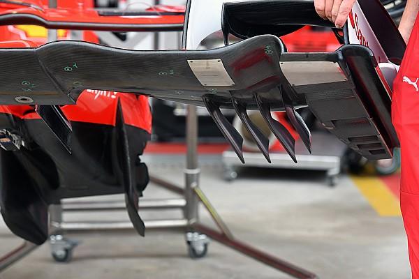 Ferrari: quanti sensori di pressione sotto all'ala anteriore della SF70H!