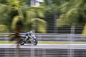 MotoGP News Yamaha in Sepang: Im Regen fehlt Valentino Rossi immer noch Grip