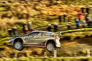 WRC 速報ニュース WRCイギリス:エバンス奪首でMスポーツ1-3。トヨタ5番手