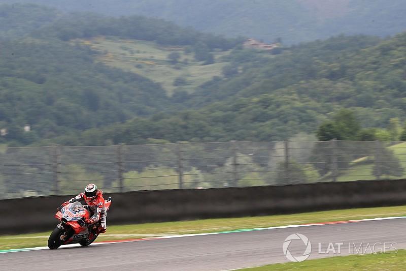 Lorenzo destaca nova posição de pilotagem após 2º