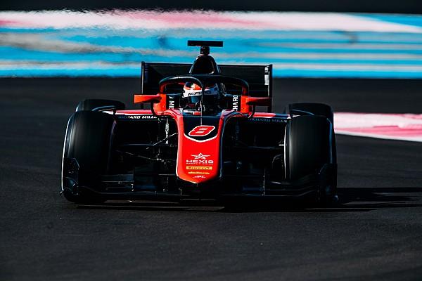 Russell logra el mejor tiempo en el día final de pruebas de F2 en Paul Ricard