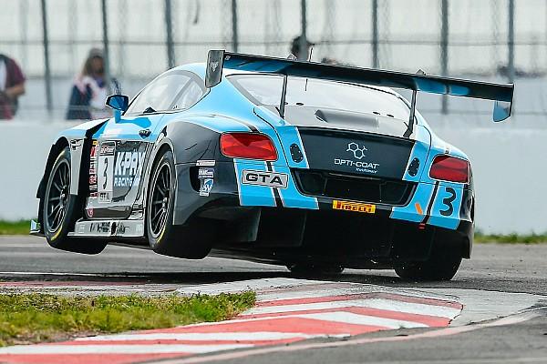 VIR PWC: Joy and despair for K-PAX Bentley in GT SprintX Race 1