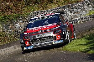 WRC Trainingsbericht Meeke: Vorsprung beim Shakedown in Korsika nicht aussagekräftig
