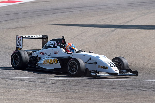 Indian Open Wheel Dubai MRF: Van Kalmthout dominates Race 2