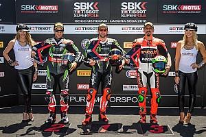 World Superbike Qualifying report Laguna Seca WSBK: Sykes continues qualifying streak with fourth straight pole