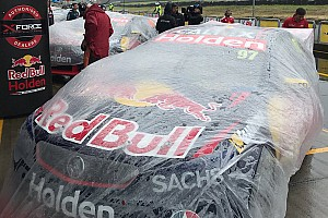 Supercars Breaking news Rain could cause schedule reshuffle at Pukekohe