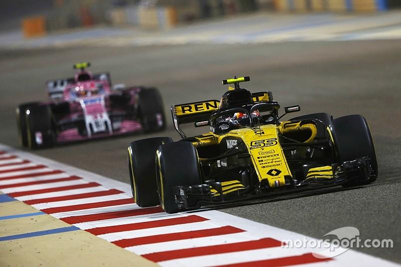 Force India admite que alcançar Renault ficou muito difícil