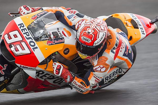 Argentina MotoGP: Marquez tops wet FP3, Ducatis to Q1