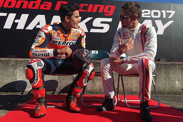 Márquez et Pedrosa au Honda Racing Thanks Day