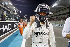 F1 排位赛报告 阿布扎比大奖赛排位赛:博塔斯击败汉密尔顿摘杆位