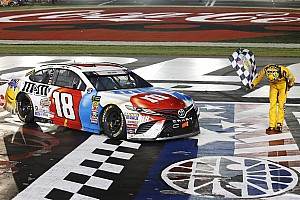 NASCAR Cup Race report Kyle Busch cruises to first Charlotte win, dominating the Coke 600
