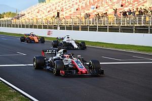 Formule 1 Actualités Grosjean : Les restarts arrêtés pourraient tourner au