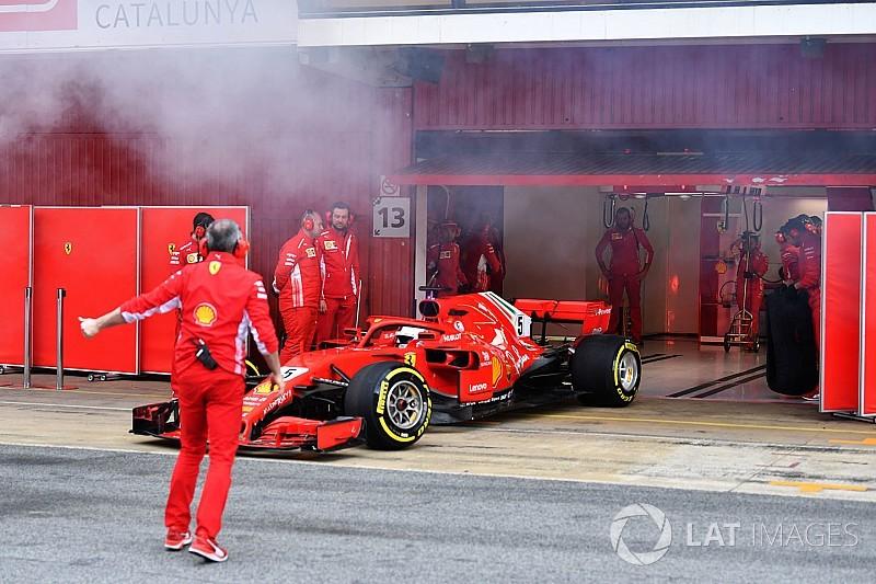 Аналіз: чому димить Ferrari