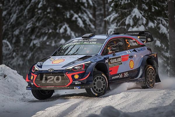 WRC Tappa Neuville e Hyundai dominano la seconda tappa del Rally di Svezia