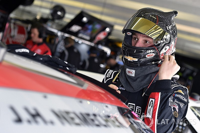 John Hunter Nemechek makes his first laps in a Xfinity Series car