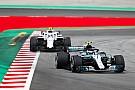 Mercedes: Bottas İspanya'da büyük bir sorun yaşamaya çok yakındı