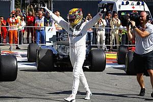 Formule 1 Réactions Hamiltonveut