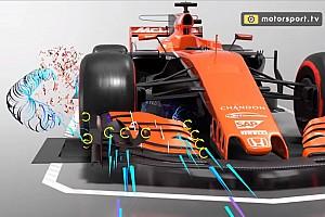 VIDEO: Mengungkap rahasia aliran udara mobil F1