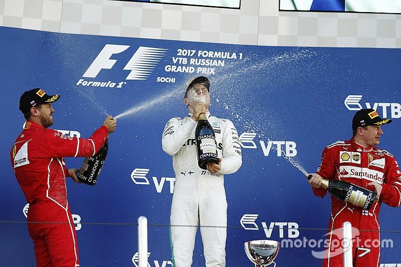 俄罗斯大奖赛:博塔斯打破法拉利美梦,夺得F1生涯首胜