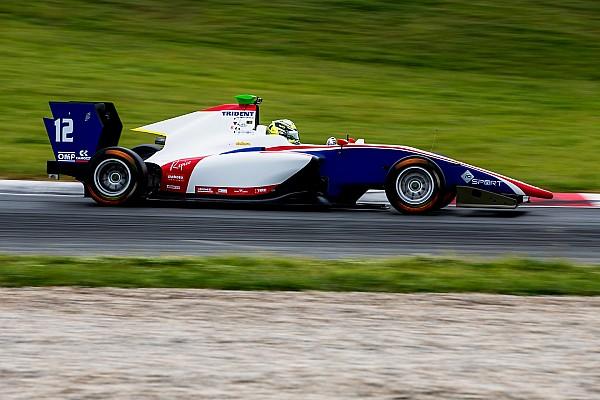Boccolacci, al frente del último día de test de GP3 en Barcelona