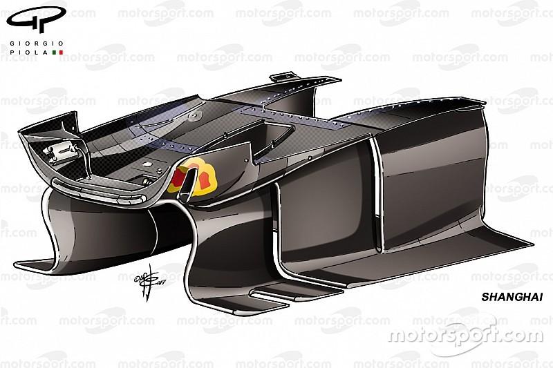 【F1マシン分析】レッドブルの新しいターニングベイン