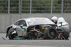 DTM BRÉKING Paffett zúzódásokkal megúszta a norisringi balesetet