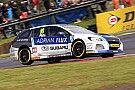 BTCC Knockhill BTCC: Plato wins Race 1 after last turn Subaru swap