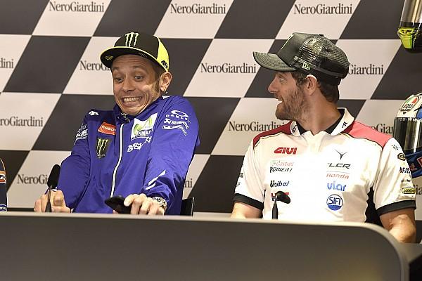 Crutchlow: Rossi comeback fantastis, semua orang ingin patah kaki
