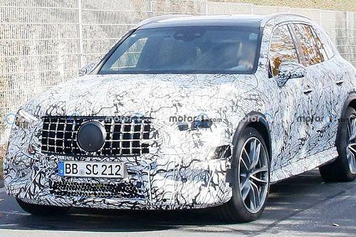 Kémfotókon mutatjuk a V8-as biturbót négyhengeres hibridre cserélő Mercedes-AMG GLC 63-at