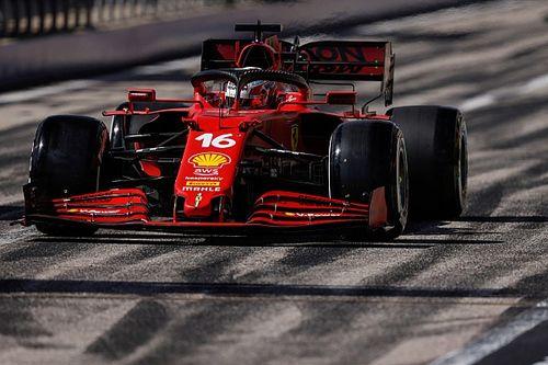 Leclerc: Pérez no logró escaparse y lo intenté todo por el podio