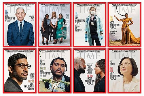 Hamilton felkerült a Time magazin A világ 100 legbefolyásosabb emberének listájára