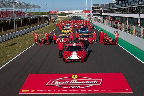 Fotogallery Ferrari: le Finali Mondiali si chiudono in bellezza