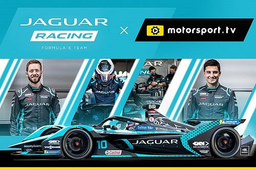 Jaguar brengt fans dichter bij Formule E met eigen kanaal op Motorsport.tv
