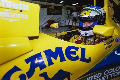 Schumacher, futur roi de la F1 dès sa première saison