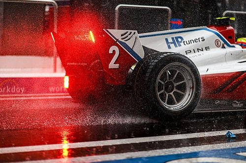F2 Sochi: Heavy rain postpones morning sprint race