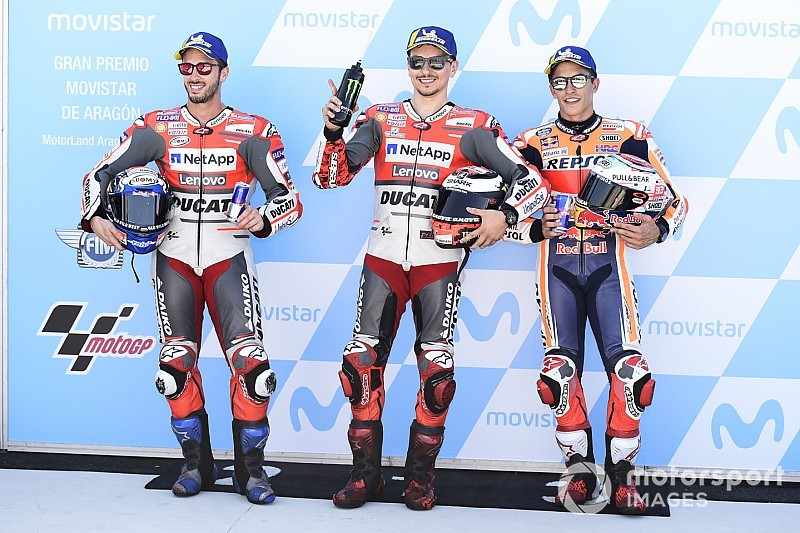 Video: Startopstelling voor Grand Prix van Aragon