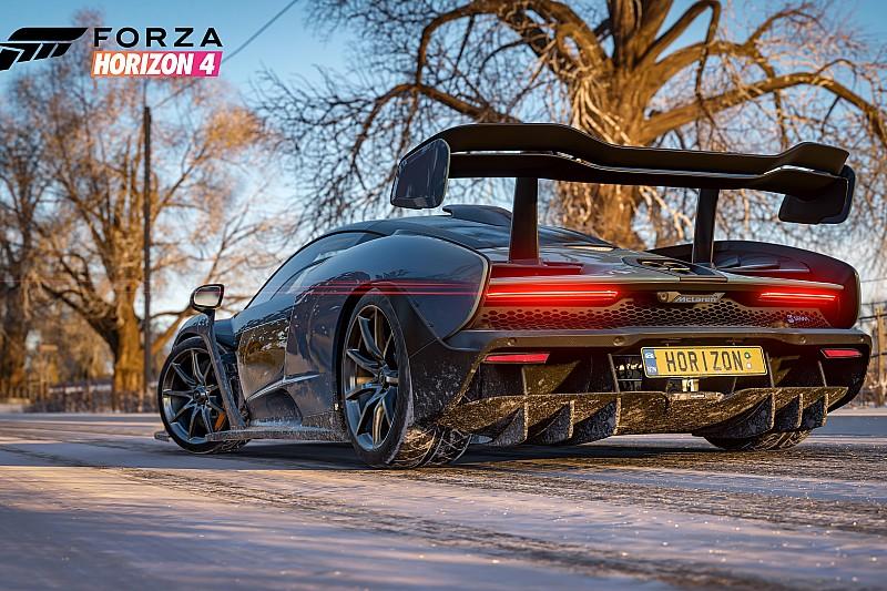 Forza Horizon 4: hóban egy brutális V12-es szörnyeteggel