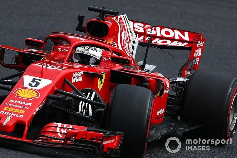 Vettel difende la Ferrari: