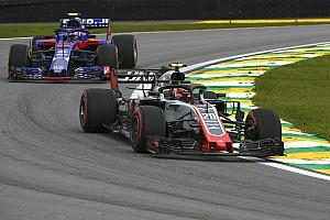 Magnussen: Haas sahip olduğu potansiyeli gösterdi