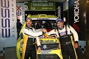 Suzuki campione d'Italia Cross Country con Codecà e Lorenzi che vincono la Baja Il Nido dell'Aquila