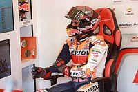 Marquez weer geopereerd, deelname in Tsjechië hoogst onzeker