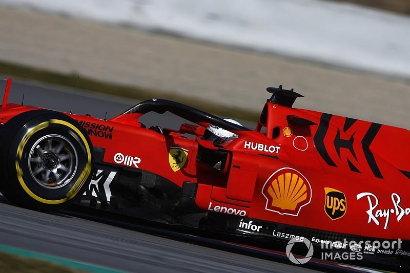Mission Winnow logoları Bahreyn'de Ferrari aracına geri dönecek