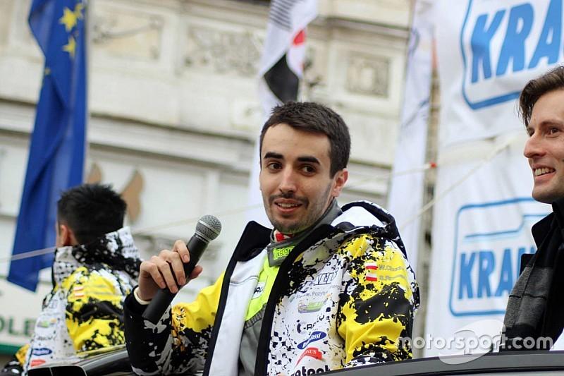 Wojciech Chuchała con il Subaru Poland Rally Team in ERC2