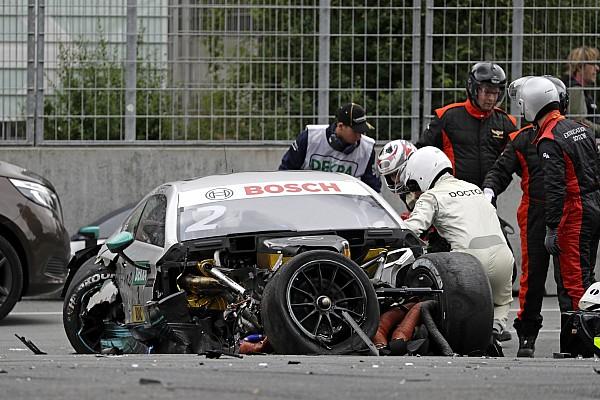 DTM Crash am Norisring: DTM fühlt sich im Sicherheitskonzept bestätigt
