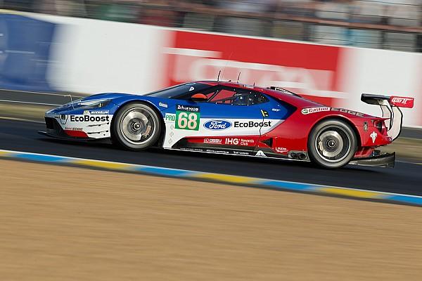 Tony Kanaan con il team Ganassi alla 24 Ore di Le Mans
